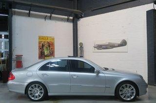 2007 Mercedes-Benz E500 W211 MY07 Avantgarde Silver 7 Speed Sports Automatic Sedan.