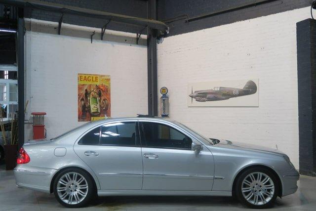 Used Mercedes-Benz E500 W211 MY07 Avantgarde, 2007 Mercedes-Benz E500 W211 MY07 Avantgarde Silver 7 Speed Sports Automatic Sedan