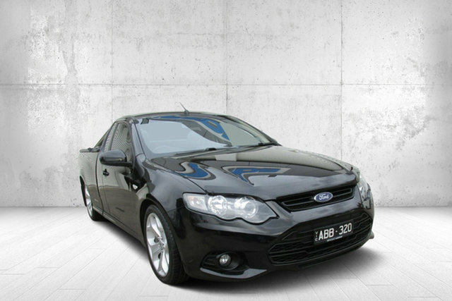 Used Ford Falcon FG MkII XR6 Ute Super Cab, 2012 Ford Falcon FG MkII XR6 Ute Super Cab Black 6 Speed Sports Automatic Utility