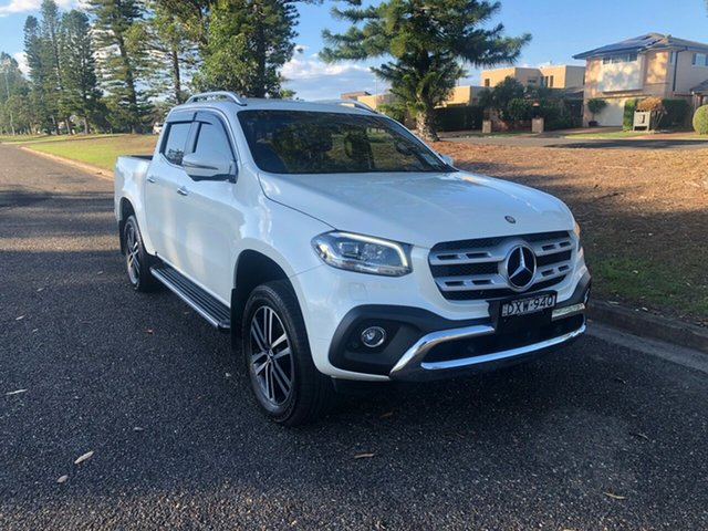 Used Mercedes-Benz X-Class 470 X250d 4MATIC Power, 2017 Mercedes-Benz X-Class 470 X250d 4MATIC Power Bering White Metallic 6 Speed Manual Utility