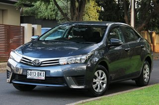 2016 Toyota Corolla ZRE172R Ascent S-CVT Charcoal 7 Speed Constant Variable Sedan.