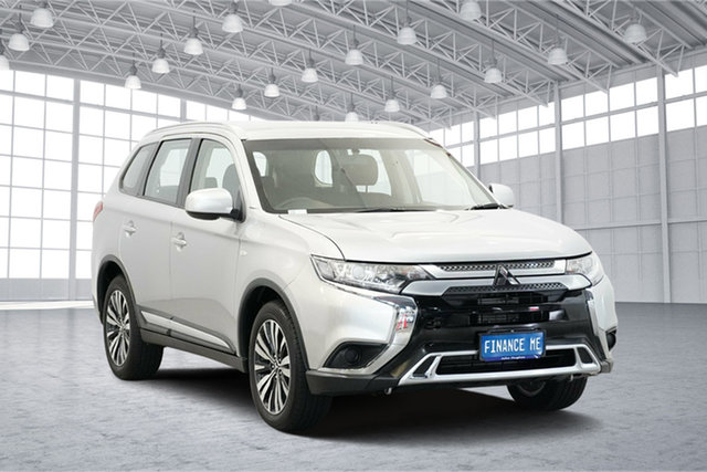 Used Mitsubishi Outlander ZL MY18.5 ES 2WD, 2018 Mitsubishi Outlander ZL MY18.5 ES 2WD Sterling Silver 6 Speed Constant Variable Wagon