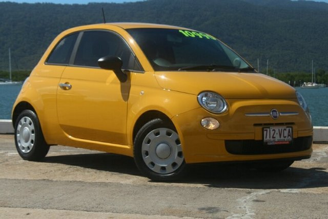 Used Fiat 500 Series 1 POP, 2014 Fiat 500 Series 1 POP Yellow 5 Speed Manual Hatchback