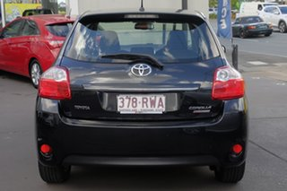 2011 Toyota Corolla ZRE152R MY11 Levin ZR Black 6 Speed Manual Hatchback