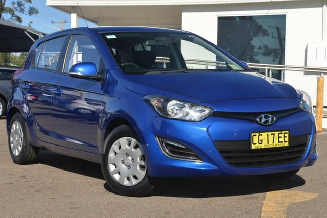 Used Hyundai i20 PB MY16 Active, 2015 Hyundai i20 PB MY16 Active Blue 4 Speed Automatic Hatchback