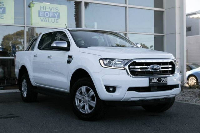 Used Ford Ranger PX MkIII 2019.00MY XLT Pick-up Double Cab, 2018 Ford Ranger PX MkIII 2019.00MY XLT Pick-up Double Cab 6 Speed Sports Automatic Utility