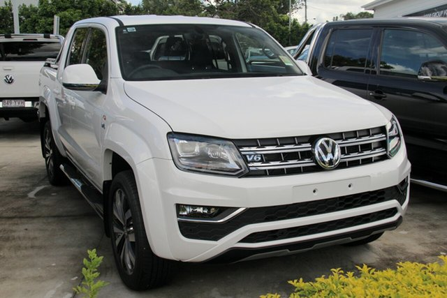 New Volkswagen Amarok 2H MY19 TDI580 4MOTION Perm Ultimate, 2019 Volkswagen Amarok 2H MY19 TDI580 4MOTION Perm Ultimate Candy White 8 Speed Automatic Utility