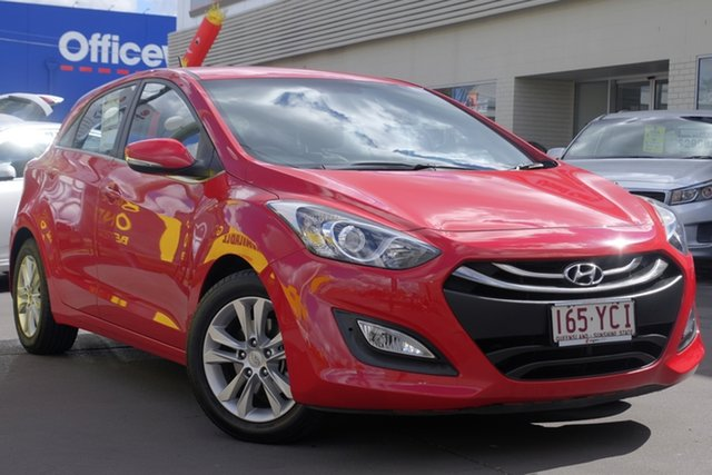 Used Hyundai i30 GD Elite, 2013 Hyundai i30 GD Elite Red 6 Speed Manual Hatchback