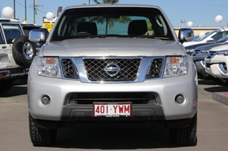 2011 Nissan Navara D40 MY11 ST-X Silver 5 Speed Automatic Dual Cab Pick-up.