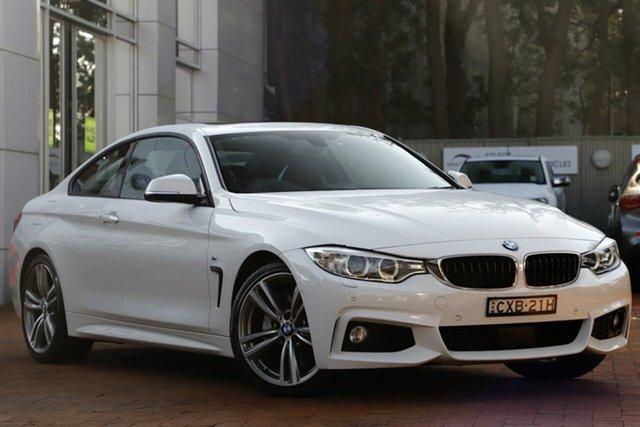 Used BMW 435i F32 , 2014 BMW 435i F32 White 8 Speed Sports Automatic Coupe