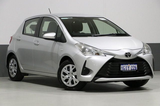 Used Toyota Yaris NCP130R MY17 Ascent, 2017 Toyota Yaris NCP130R MY17 Ascent Silver 4 Speed Automatic Hatchback