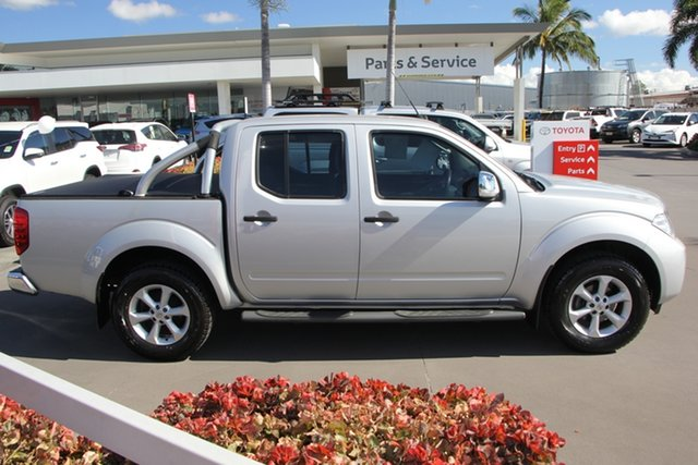 Used Nissan Navara D40 MY11 ST-X, 2011 Nissan Navara D40 MY11 ST-X Silver 5 Speed Automatic Dual Cab Pick-up