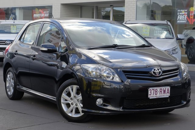 Used Toyota Corolla ZRE152R MY11 Levin ZR, 2011 Toyota Corolla ZRE152R MY11 Levin ZR Black 6 Speed Manual Hatchback