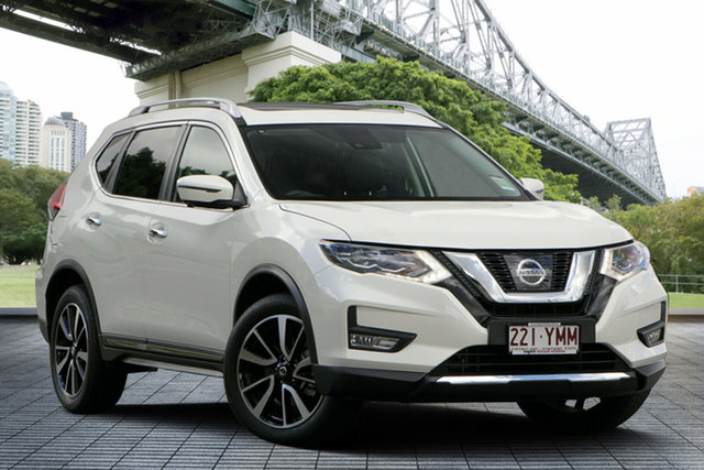 Demo Nissan X-Trail T32 Series II TL X-tronic 4WD, 2018 Nissan X-Trail T32 Series II TL X-tronic 4WD Ivory Pearl 7 Speed Constant Variable Wagon