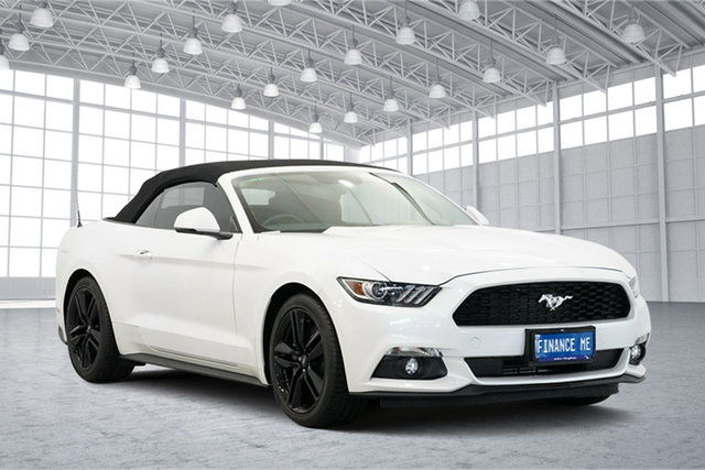 Used Ford Mustang FM 2017MY SelectShift, 2016 Ford Mustang FM 2017MY SelectShift White 6 Speed Sports Automatic Convertible
