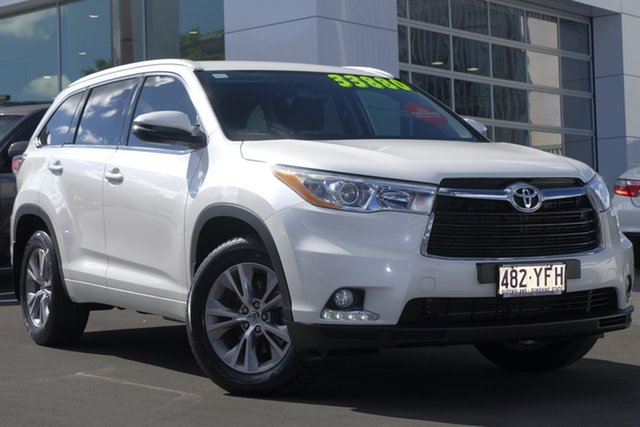 Used Toyota Kluger GSU55R GXL AWD, 2014 Toyota Kluger GSU55R GXL AWD White 6 Speed Sports Automatic Wagon