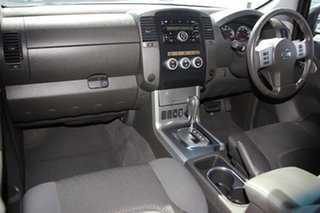 2011 Nissan Navara D40 MY11 ST-X Silver 5 Speed Automatic Dual Cab Pick-up