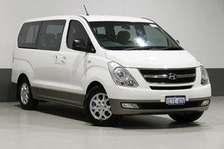 2015 Hyundai iMAX TQ MY13 White 5 Speed Automatic Wagon.
