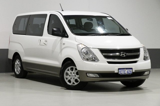 Used Hyundai iMAX TQ MY13 , 2015 Hyundai iMAX TQ MY13 White 5 Speed Automatic Wagon
