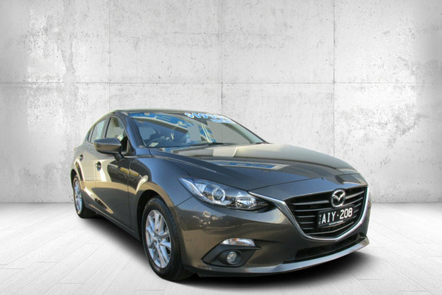 Used Mazda 3 BM5478 Maxx SKYACTIV-Drive, 2016 Mazda 3 BM5478 Maxx SKYACTIV-Drive Titanium F 6 Speed Sports Automatic Hatchback
