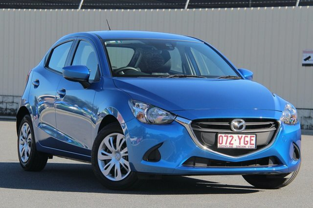 Used Mazda 2 DJ2HA6 Neo SKYACTIV-MT, 2018 Mazda 2 DJ2HA6 Neo SKYACTIV-MT Blue 6 Speed Manual Hatchback