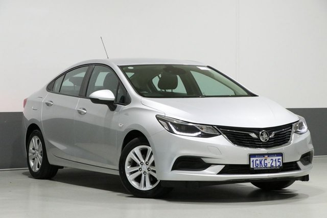 Used Holden Astra BL MY17 LS Plus, 2017 Holden Astra BL MY17 LS Plus Silver 6 Speed Automatic Sedan