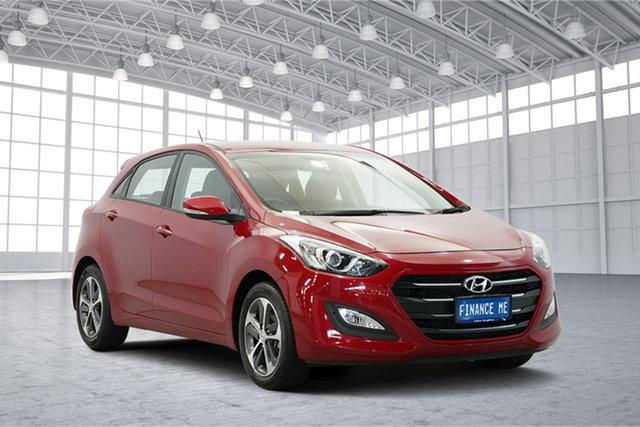 Used Hyundai i30 GD4 Series II MY17 Active X, 2016 Hyundai i30 GD4 Series II MY17 Active X Red 6 Speed Sports Automatic Hatchback