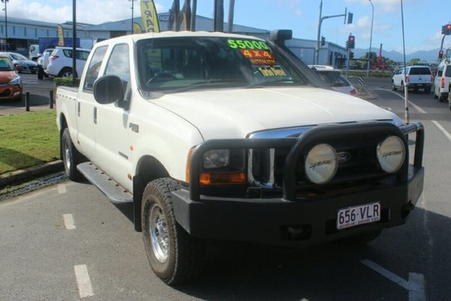 Used Ford F250 RN XLT, 2005 Ford F250 RN XLT White 4 Speed Automatic Utility