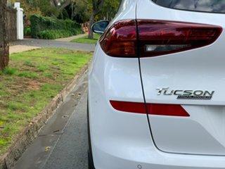 2018 Hyundai Tucson TL3 MY19 Highlander AWD Pure White 8 Speed Sports Automatic Wagon