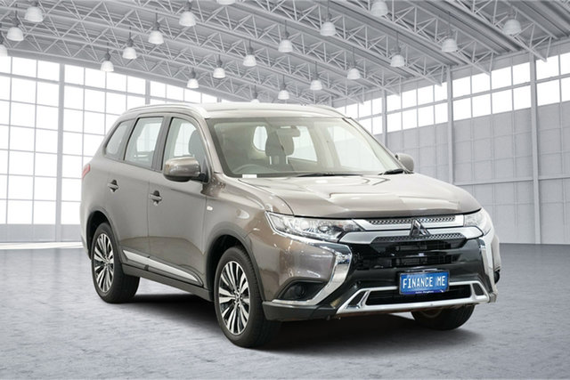 Used Mitsubishi Outlander ZL MY19 ES AWD, 2018 Mitsubishi Outlander ZL MY19 ES AWD Ironbark 6 Speed Constant Variable Wagon