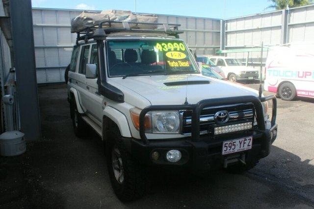 Used Toyota Landcruiser VDJ76R GXL, 2008 Toyota Landcruiser VDJ76R GXL White 5 Speed Manual Wagon