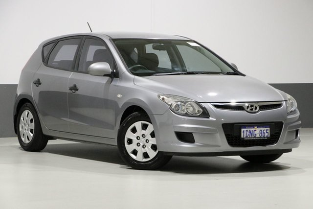 Used Hyundai i30 FD MY10 SLX 1.6 CRDi, 2010 Hyundai i30 FD MY10 SLX 1.6 CRDi Silver 4 Speed Automatic Hatchback