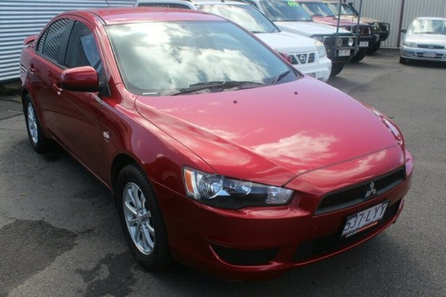 Used Mitsubishi Lancer CJ MY09 ES, 2009 Mitsubishi Lancer CJ MY09 ES Red 6 Speed Constant Variable Sedan