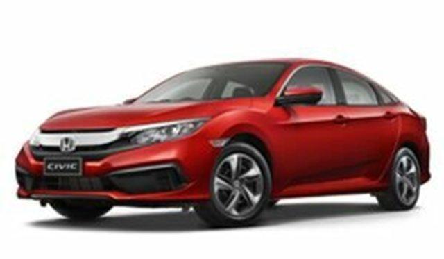 Demo Honda Civic 10th Gen MY19 VTi, 2019 Honda Civic 10th Gen MY19 VTi Rallye Red 1 Speed Constant Variable Sedan