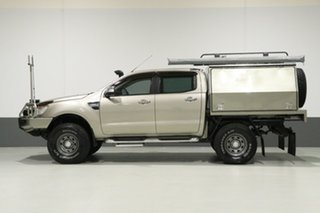 2012 Ford Ranger PX XLT 3.2 (4x4) Gold 6 Speed Automatic Dual Cab Utility