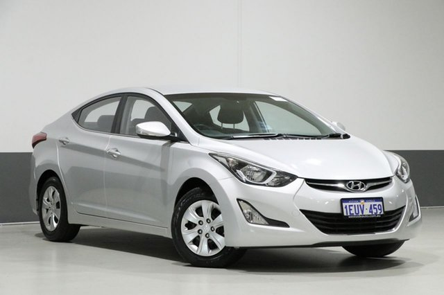 Used Hyundai Elantra MD Series 2 (MD3) Active, 2015 Hyundai Elantra MD Series 2 (MD3) Active Silver 6 Speed Automatic Sedan