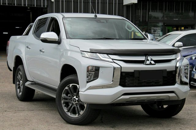 New Mitsubishi Triton MR MY19 GLS (4x4), 2019 Mitsubishi Triton MR MY19 GLS (4x4) White Diamond 6 Speed Manual Double Cab Pickup