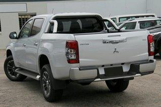 2019 Mitsubishi Triton MR MY19 GLS (4x4) White Diamond 6 Speed Automatic Double Cab Pickup.