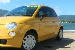 2014 Fiat 500 Series 1 POP Yellow 5 Speed Manual Hatchback
