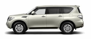 2019 Nissan Patrol Y62 Series 4 TI Ivory Pearl 7 Speed Sports Automatic Wagon