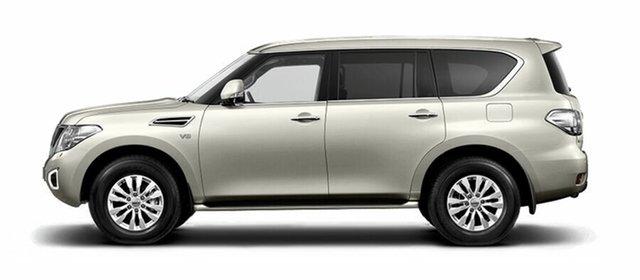 New Nissan Patrol Y62 Series 4 TI, 2019 Nissan Patrol Y62 Series 4 TI Ivory Pearl 7 Speed Sports Automatic Wagon