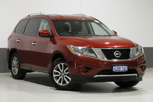 Used Nissan Pathfinder R52 ST (4x2), 2015 Nissan Pathfinder R52 ST (4x2) Red Continuous Variable Wagon