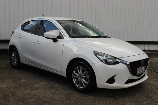 Used Mazda 2 DJ2HAA Maxx SKYACTIV-Drive, 2015 Mazda 2 DJ2HAA Maxx SKYACTIV-Drive White 6 Speed Sports Automatic Hatchback