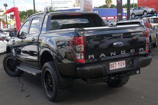 2016 Ford Ranger PX MkII Wildtrak Double Cab Black/Grey 6 Speed Sports Automatic Utility.