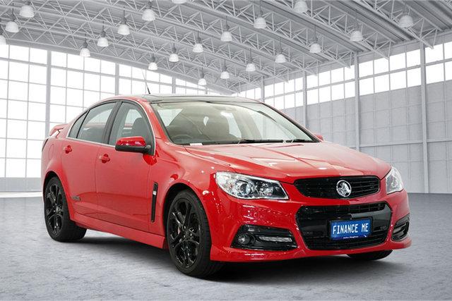 Used Holden Commodore VF MY15 SS V Redline, 2015 Holden Commodore VF MY15 SS V Redline Red 6 Speed Sports Automatic Sedan