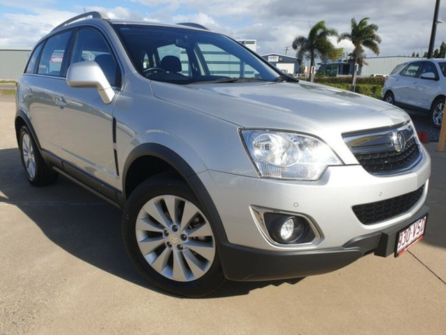 Used Holden Captiva CG MY15 5 LT, 2015 Holden Captiva CG MY15 5 LT Silver 6 Speed Manual Wagon