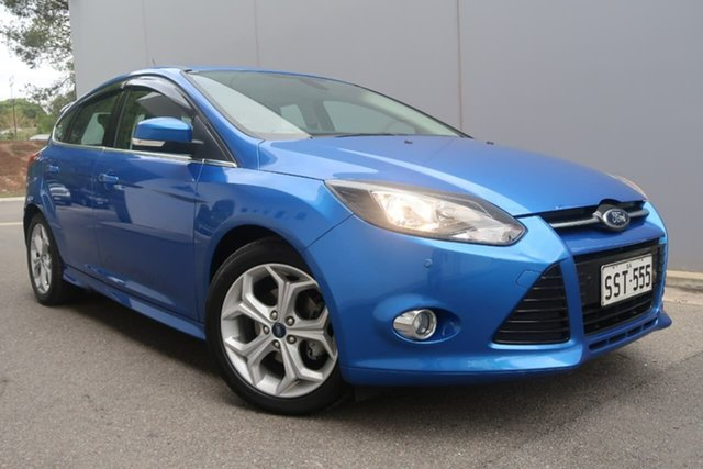 Used Ford Focus LW MkII Sport, 2013 Ford Focus LW MkII Sport Blue 5 Speed Manual Hatchback