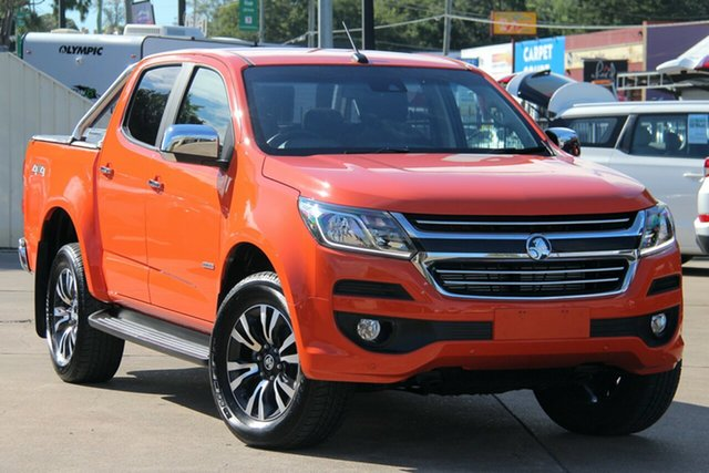 Used Holden Colorado RG MY19 LTZ Pickup Crew Cab, 2018 Holden Colorado RG MY19 LTZ Pickup Crew Cab Orange 6 Speed Sports Automatic Utility