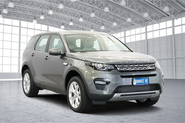 Used Land Rover Discovery Sport L550 16MY Td4 HSE, 2015 Land Rover Discovery Sport L550 16MY Td4 HSE Grey 9 Speed Sports Automatic Wagon