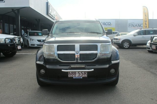 Used Dodge Nitro KA MY08 SXT, 2008 Dodge Nitro KA MY08 SXT Black 5 Speed Sports Automatic Wagon